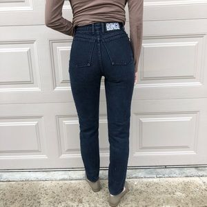 VINTAGE | High waist Bongo jeans made in USA